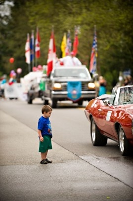 May Day Parade in Fort Langley. I have gone to this event since I was younger than the boy in the photo.