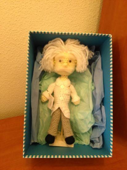 Einstein a crochet