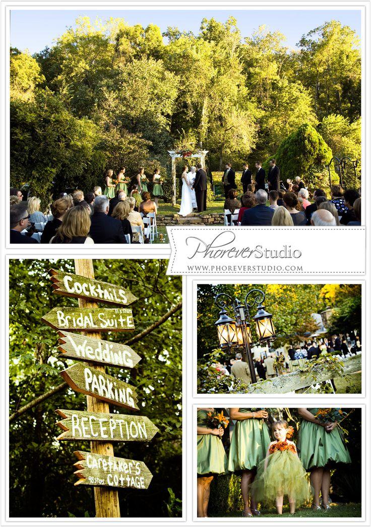 NW Arkansas Wedding Creekwood Gardens Photography By Phorever Studio Vintage Outdoor