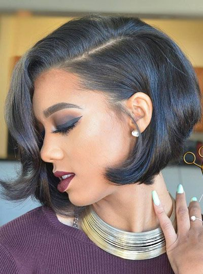 Magnificent 1000 Ideas About Black Hairstyles On Pinterest Hairstyles Short Hairstyles For Black Women Fulllsitofus