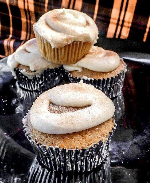 Bekenntnisse einer ADD-Hausfrau: Snickerdoodle Cupcakes