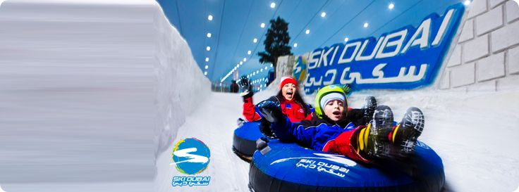 Skiing Dubai - a must try.