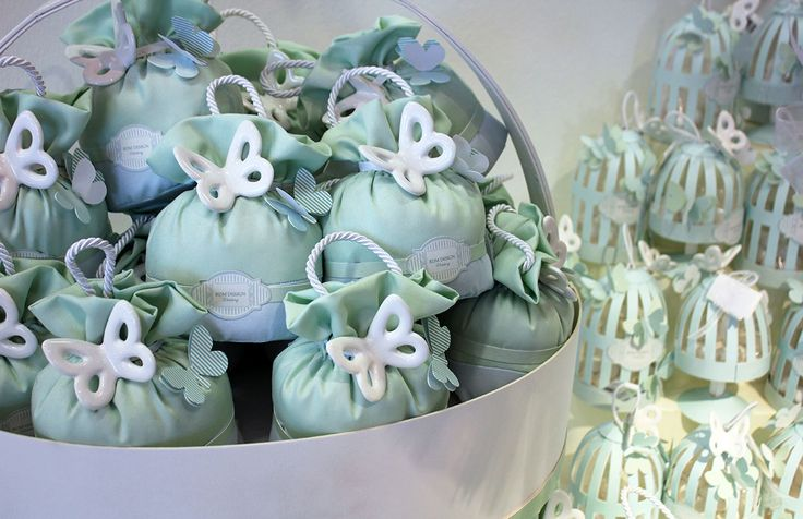 #Wedding RDM design : #bomboniere con farfalle in ceramica.