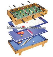 High quality 4 in 1 multi game table