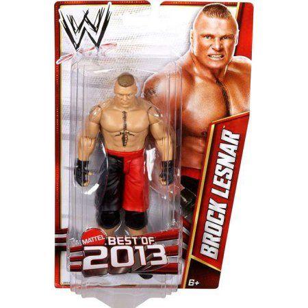 WWE Wrestling Best of 2013 Brock Lensar Action Figure, Multicolor