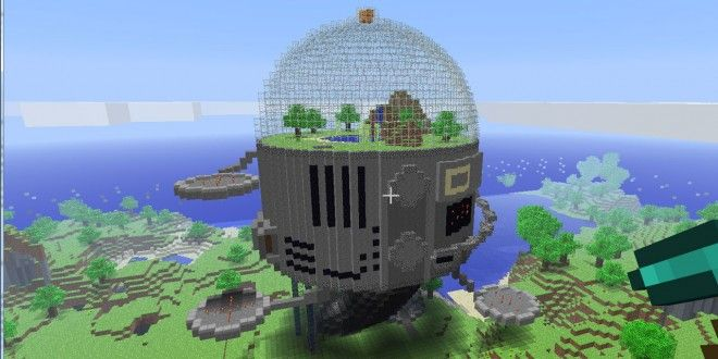 Space Dome Minecraft Building Inc Minecraft Stuff Pinterest