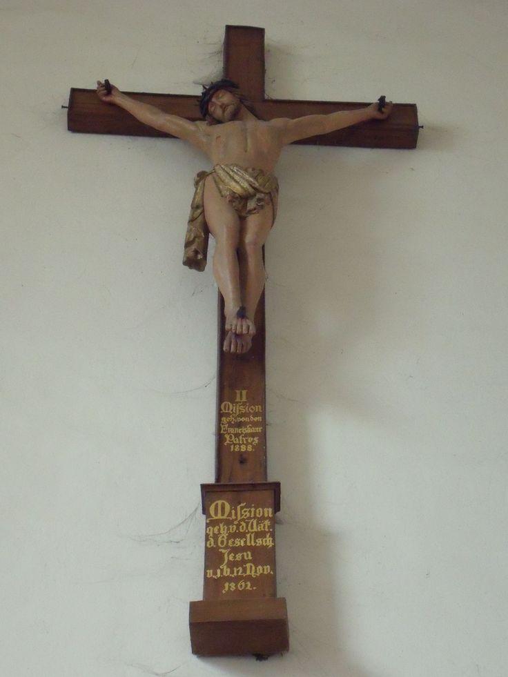 A cross in a church, Prum (DL)