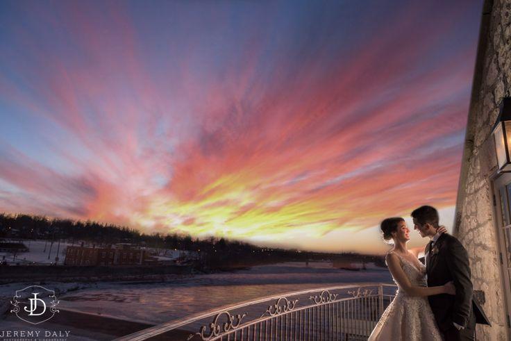 Cambridge Mill Balcony sunset photography | Jeremy Daly Photography