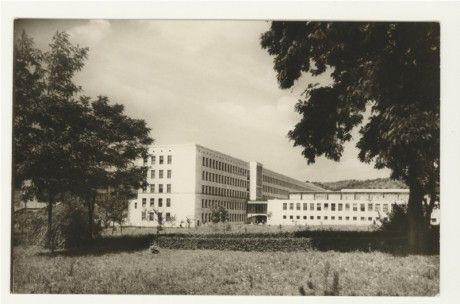 Miskolci képeslapok Miskolci Egyetem 1952