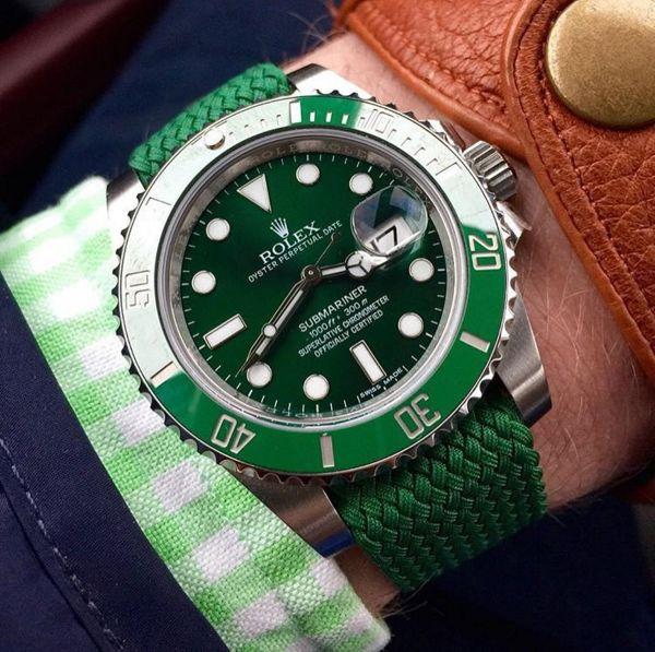 Rolex Submariner Hulk Strap