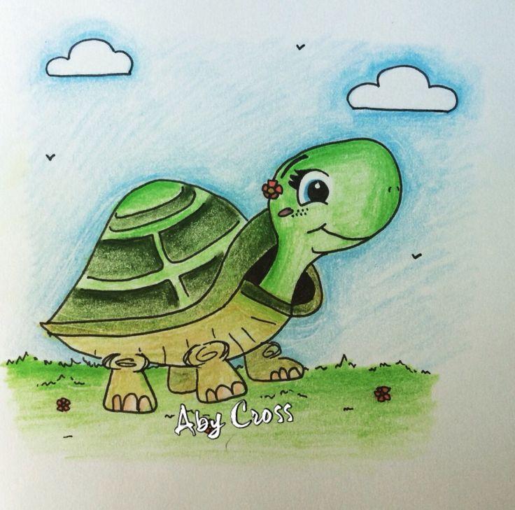 ~ cute turtle sketch ~