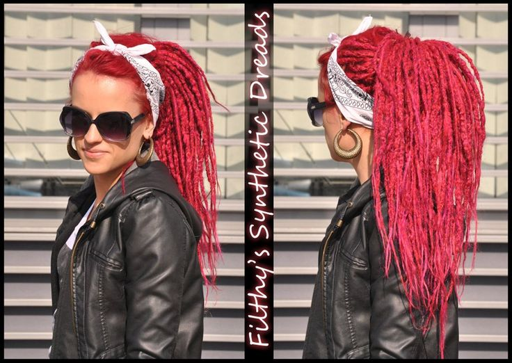 <3 Filthy's Synthetic Dreads <3