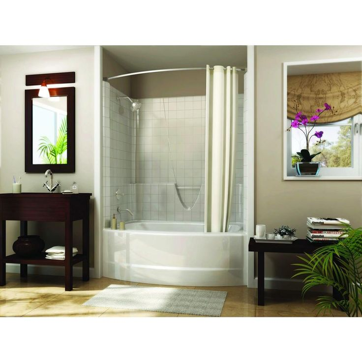 39 best images about small bathroom ideas on pinterest for Small 3 piece bathroom ideas