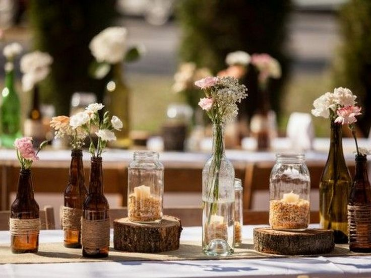 Rustic Wedding Decor | Wedding Diaries