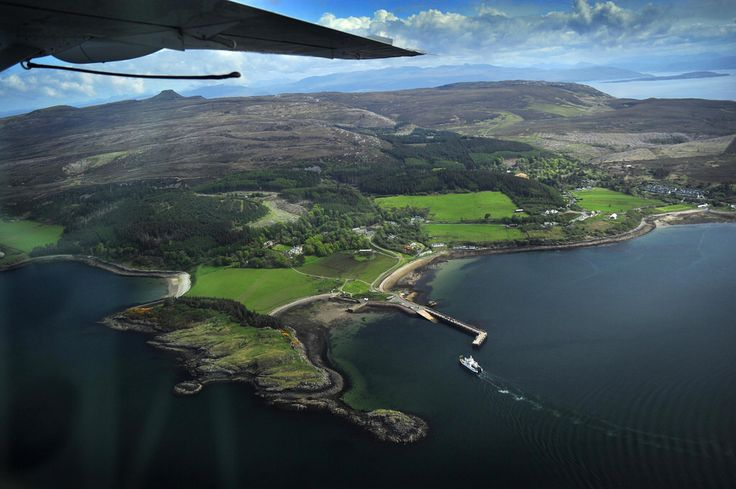 Images Of Skye From The Air - Skye Seaplanes