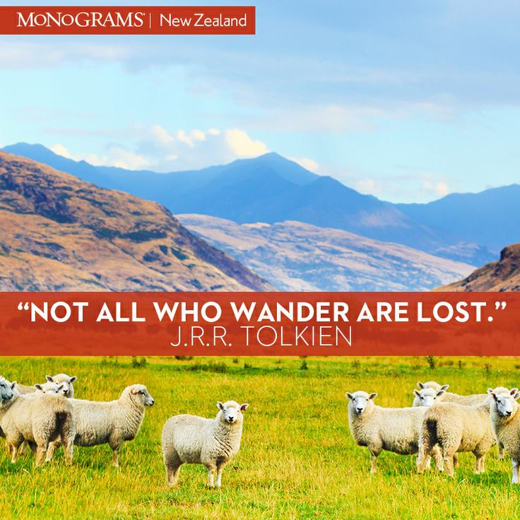 Not all who wander are lost. #TravelInspiration