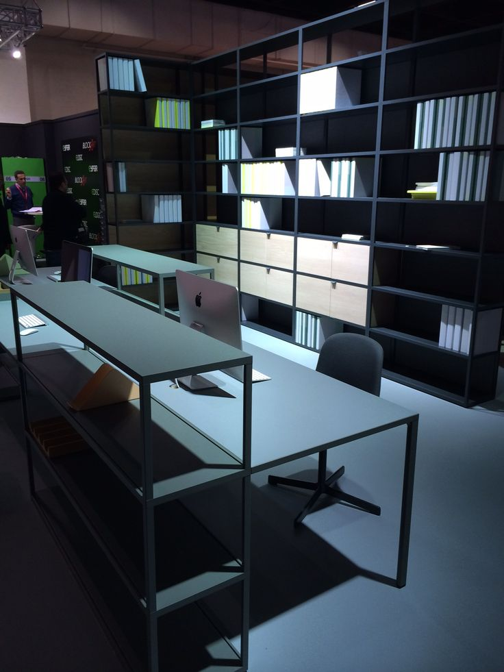 Holmris Desks at Orgatec