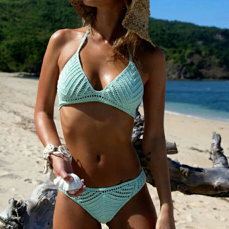 """Crochet swimwear  HOW TO ORDER: 1. Select items from the album 2. Click """"Shop now"""" and fill up the order form Name: Complete Address: Cellphone#: Email Address: Mode of Payment:(Land Bank, BPI, Money gram, Gcash, LBC, Cebuana Lhuillier, M. Lhuillier, Western Union) Date of Payment: Description of your final orders: Size of your body Color you like: For the style you want copy and paste the link:  3. Wait for our reply with your order invoice + delivery cost and payment details.   4…"""