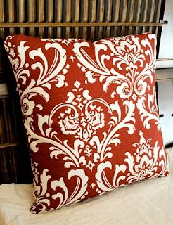 How to recover throw pillows...possibly use fabric remnants?  I've got two that are wine-stained but still nice and fluffy