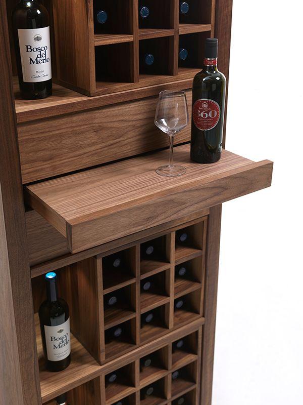 Las 25 mejores ideas sobre cantinas de madera en pinterest - Botelleros de madera rusticos ...