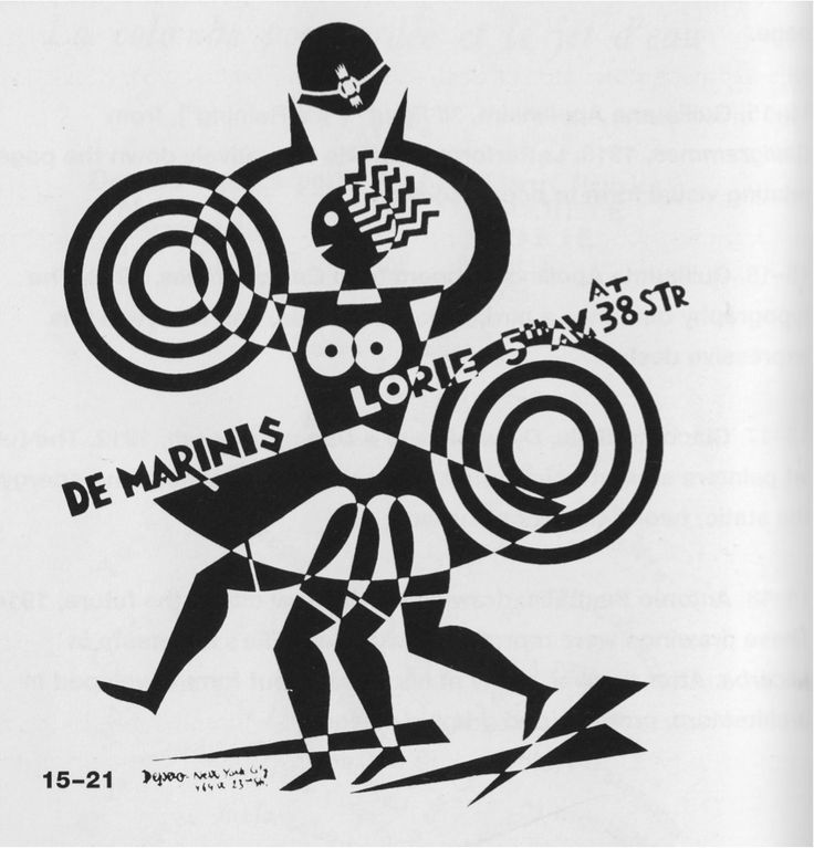 Fortunato Depero, De Marinis & Lorie, logo, 1929