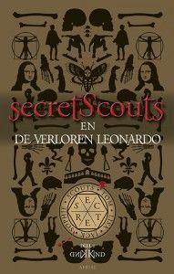 """Boekensite.gent over Secret Scouts en de Verloren Leonardo, uit bij Aerial Media Company: """"Razendsnelle avonturen vol historische feiten & fictie met spanning tot de laatste bladzijde. """""""