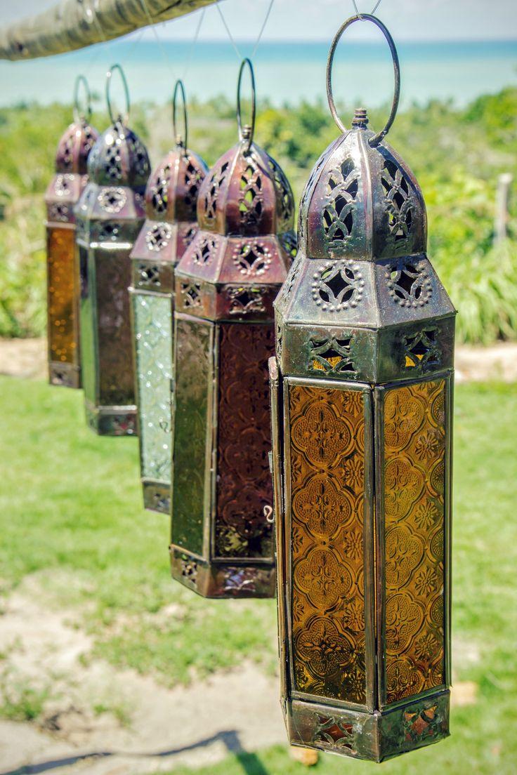 lanternas marroquinas #decoração #casamento #trancoso #Monicaosmola