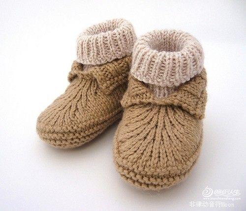 [Figura] [Alerta] [Luna Nueva] un detallado zapatos de bebé de moda método _ suéter de los niños ... _lvcha2006 colección tejer _ Me gusta línea