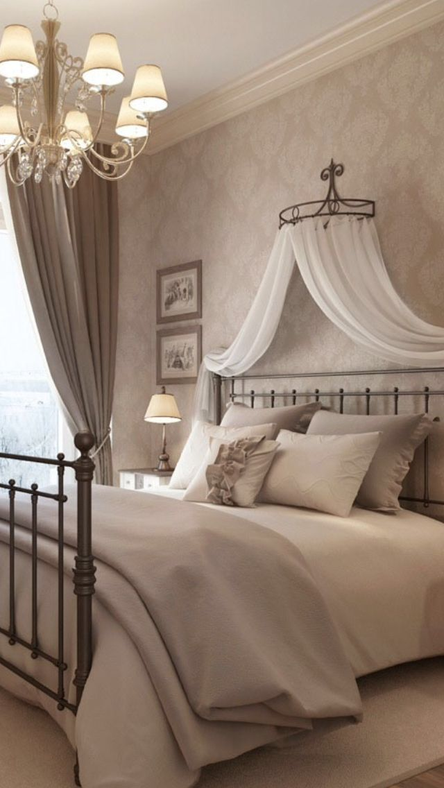 Bedroom Designs Gorgeous Classical Neutral Bedroom Ideas