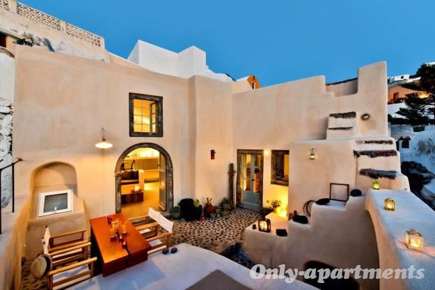 Just leave me here, in VILLA MATRONA Apartment, Santorini, Greece.