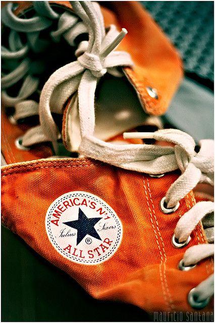 Orange | Arancio | Oranje | オレンジ | Colour | Texture | Style | Form |  Shop Converse All Stars