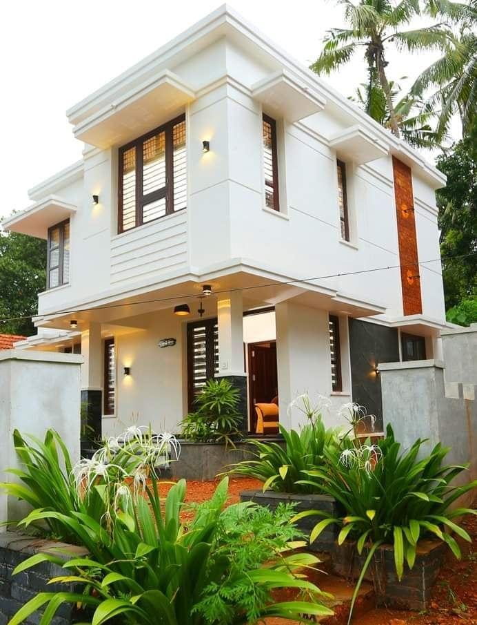 Exterior By Sagar Morkhade Vdraw Architecture 8793196382: Elegant Double Storey Villa With Spectacular Interior – Amazing Architecture Magazine