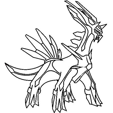 Pok mon dialga coloriage pok mon dialga en ligne gratuit a dessins pinterest - Pokemon gratuit ...