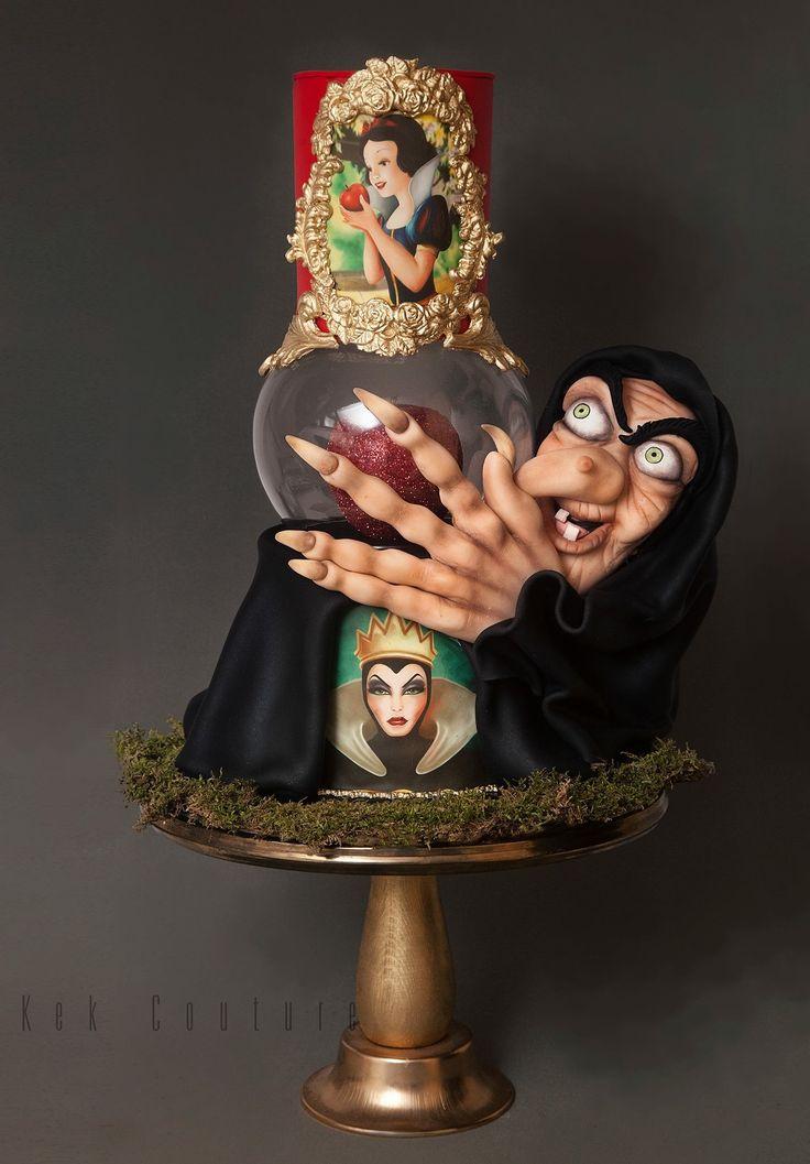 Awesome Snow White cake design