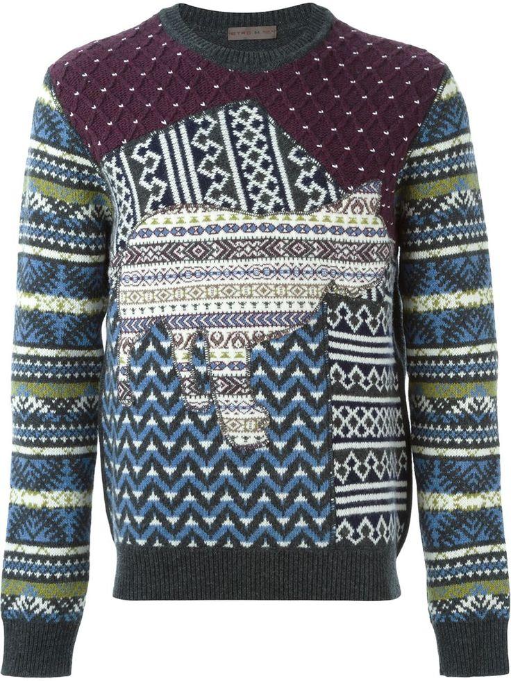 Etro Patchwork Sweater - Yusty - Farfetch.com