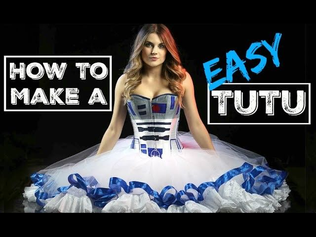 How to Make a Tutu - DIY Easy Cosplay