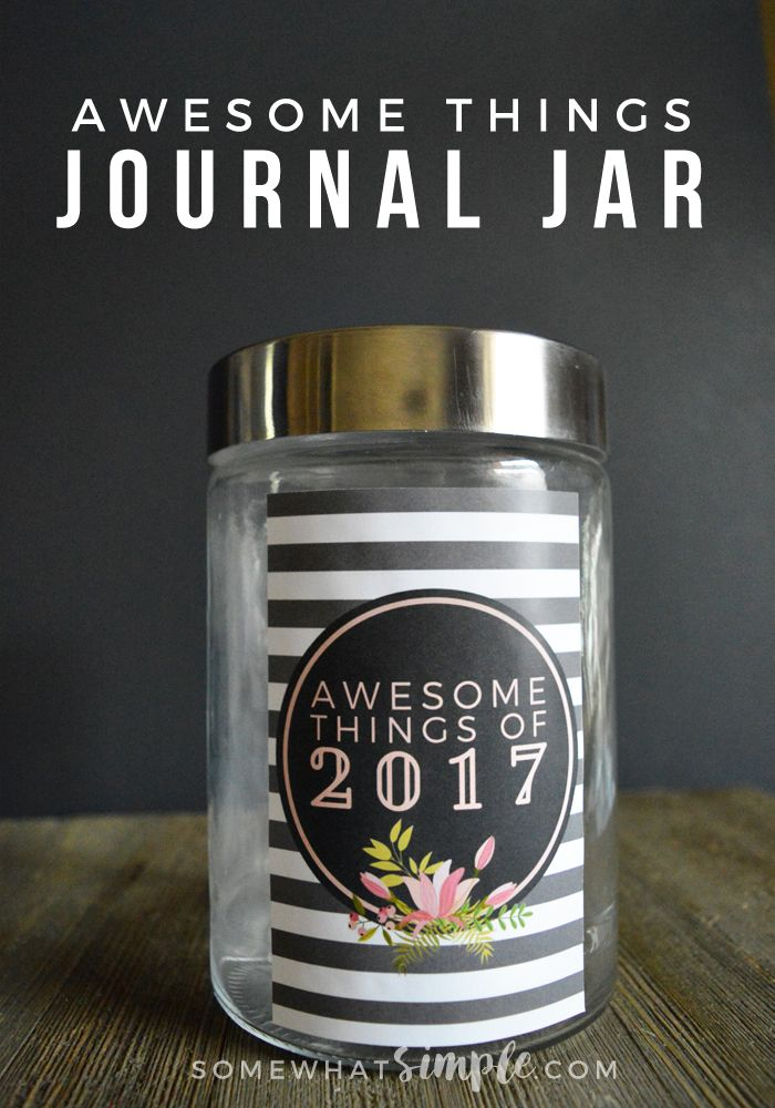 Hang on to your hats, my friends, we've finally put together our 2017 Journal Jar Kit with a label + journaling cards! (And they turned out darling!)