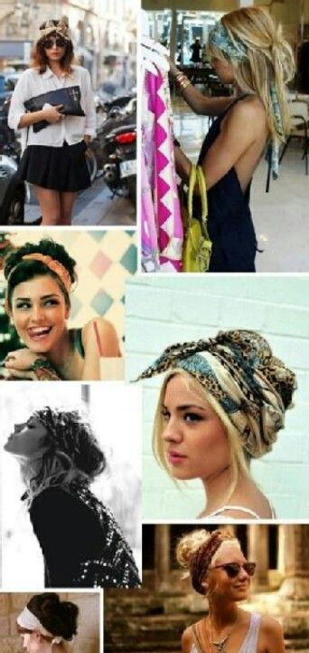 Hair scarf: