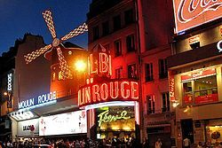 Moulin Rouge - here's the official site:  http://www.moulinrouge.fr/
