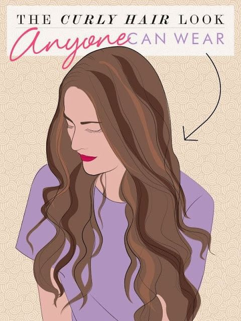Here's a guide to the curled hair look that looks amazing on everyone: beautiful, loose waves.