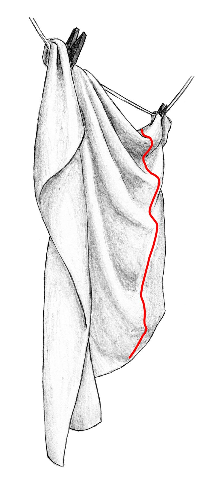 Here is how to draw a DIAPER FOLD from side view. Notice the interesting shape of the curves and folds! (=  Learn more: https://www.udemy.com/draw-folds-clothes/?couponCode=FLLFIRST