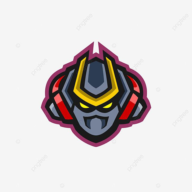 Robot Head Gaming Mascot E Sports Logo Or Twitch Robot Mascot Illustration Png And Vector With Transparent Background For Free Download Mascot Sports Logo Logo Concept