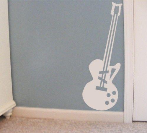 Best 25 music themed rooms ideas on pinterest music bedroom guitar bedroom and music - Guitar decorations for bedroom ...