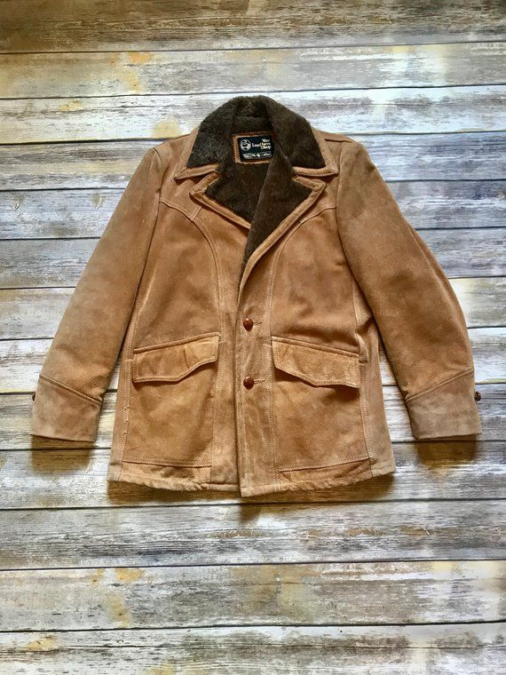 c27ba3c1e83 The Leather Shop Sears Vintage Marlboro Man Style Leather Coat Jacket Size  38