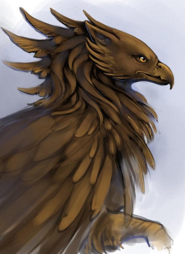 Griffin by Adalfyre.deviantart.com on @deviantART
