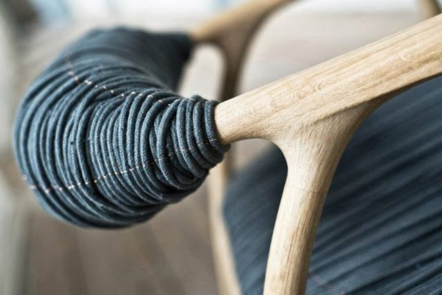 La Haptic Chair par Trine Kjaer