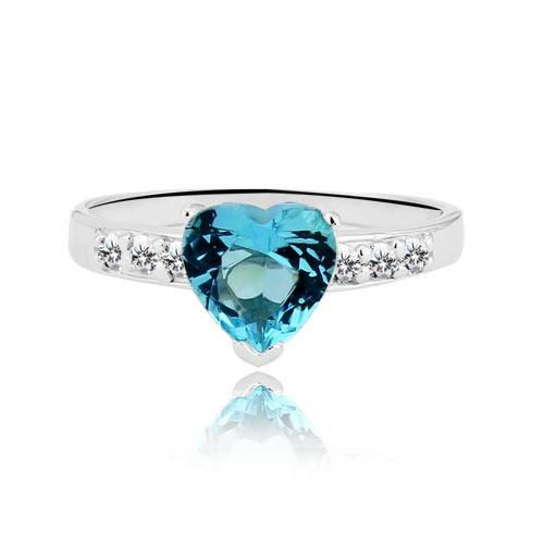 Simple Classic Silver Promise Rings For Women