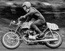 第3回浅間火山レ-ス  125cc 3位の藤井璋美  1959年 写真集-3