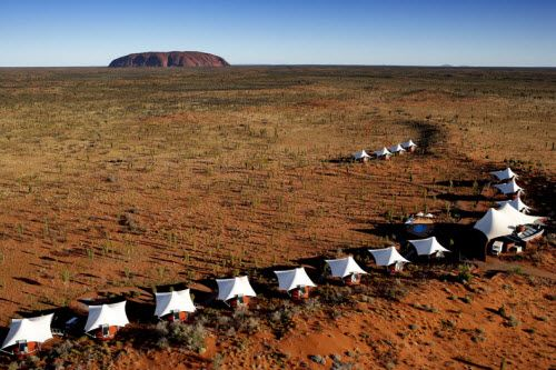 Who says camping has to  be rough? Five 'glamps' in Australia will have you pampered with luxury.