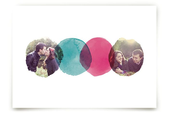 Overlapping Watercolor Love by A Little Big Picture at minted.com